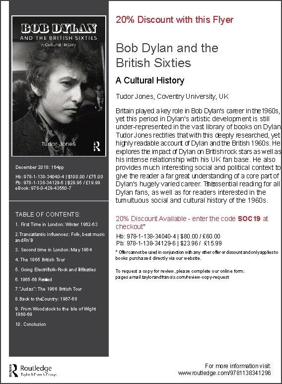 """""""Bob Dylan Promo Page"""""""
