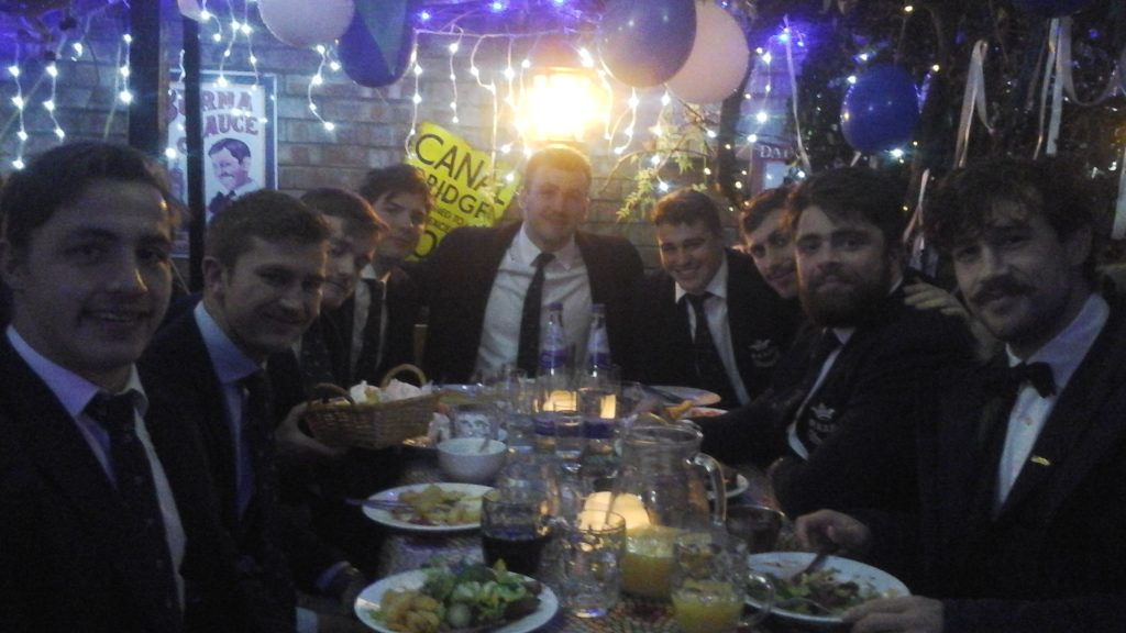 OURFC Selection Supper 2018 Table 2
