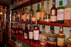Some of the 35 malt whisky's